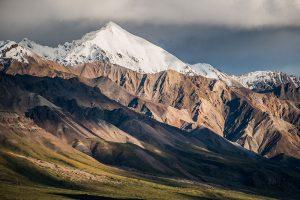 alaska range mountains landscape