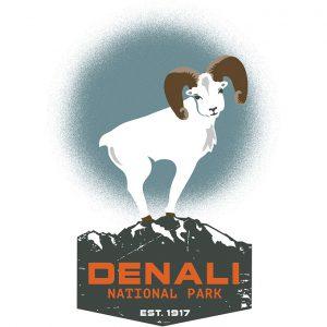 Denali Centennial Logo
