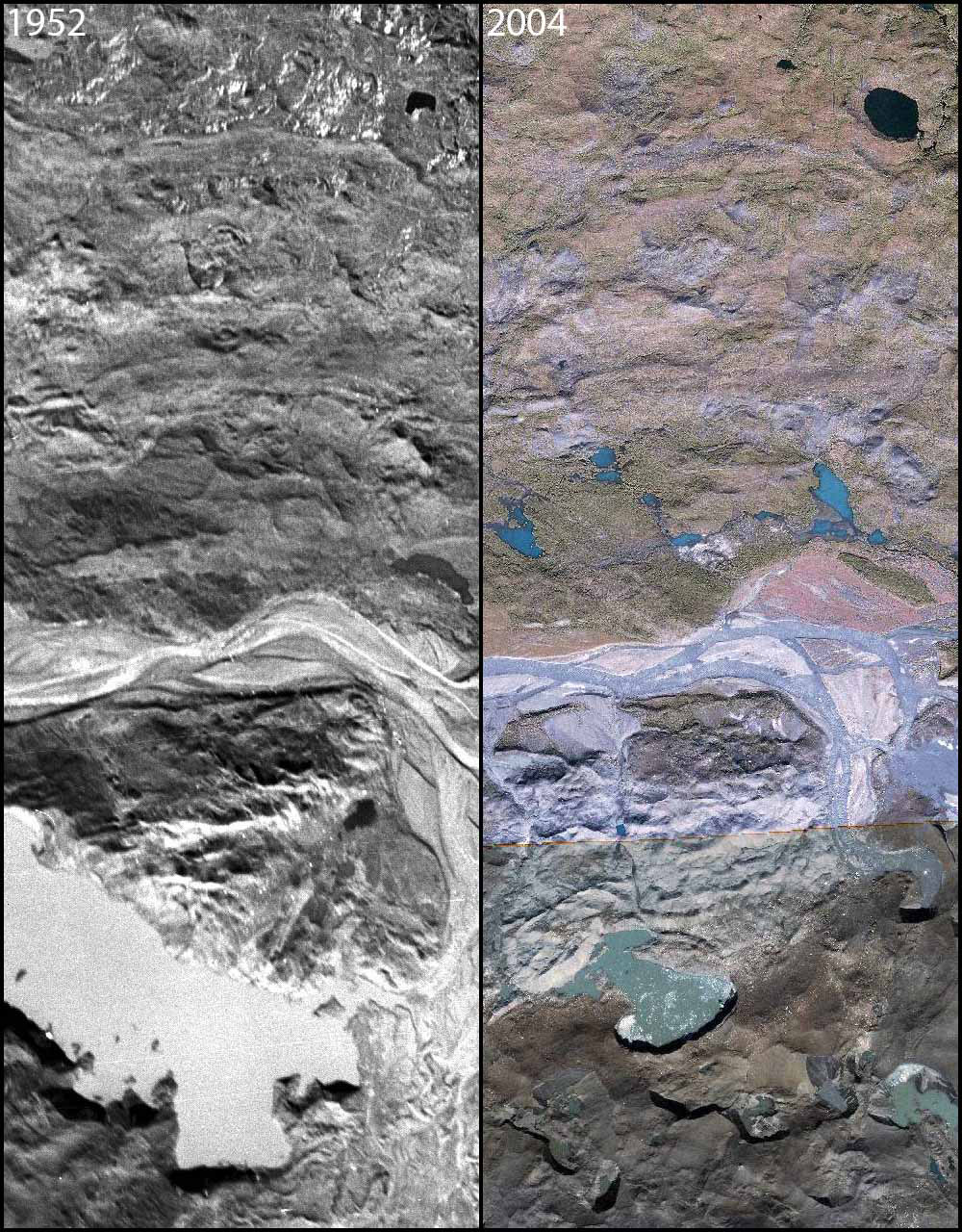 Muldrow Glacier photo pair