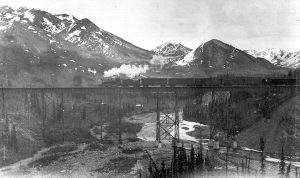 Riley Creek railroad trestle